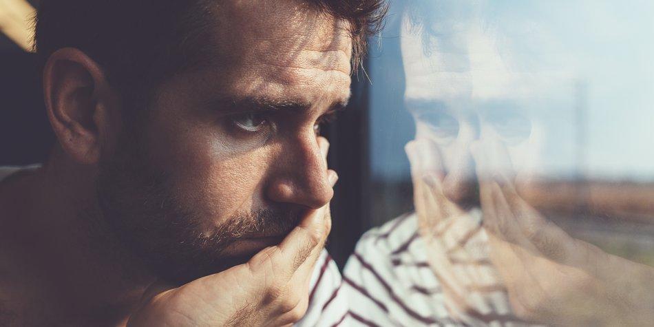 Seltsame Männer-Ängste in Beziehungen