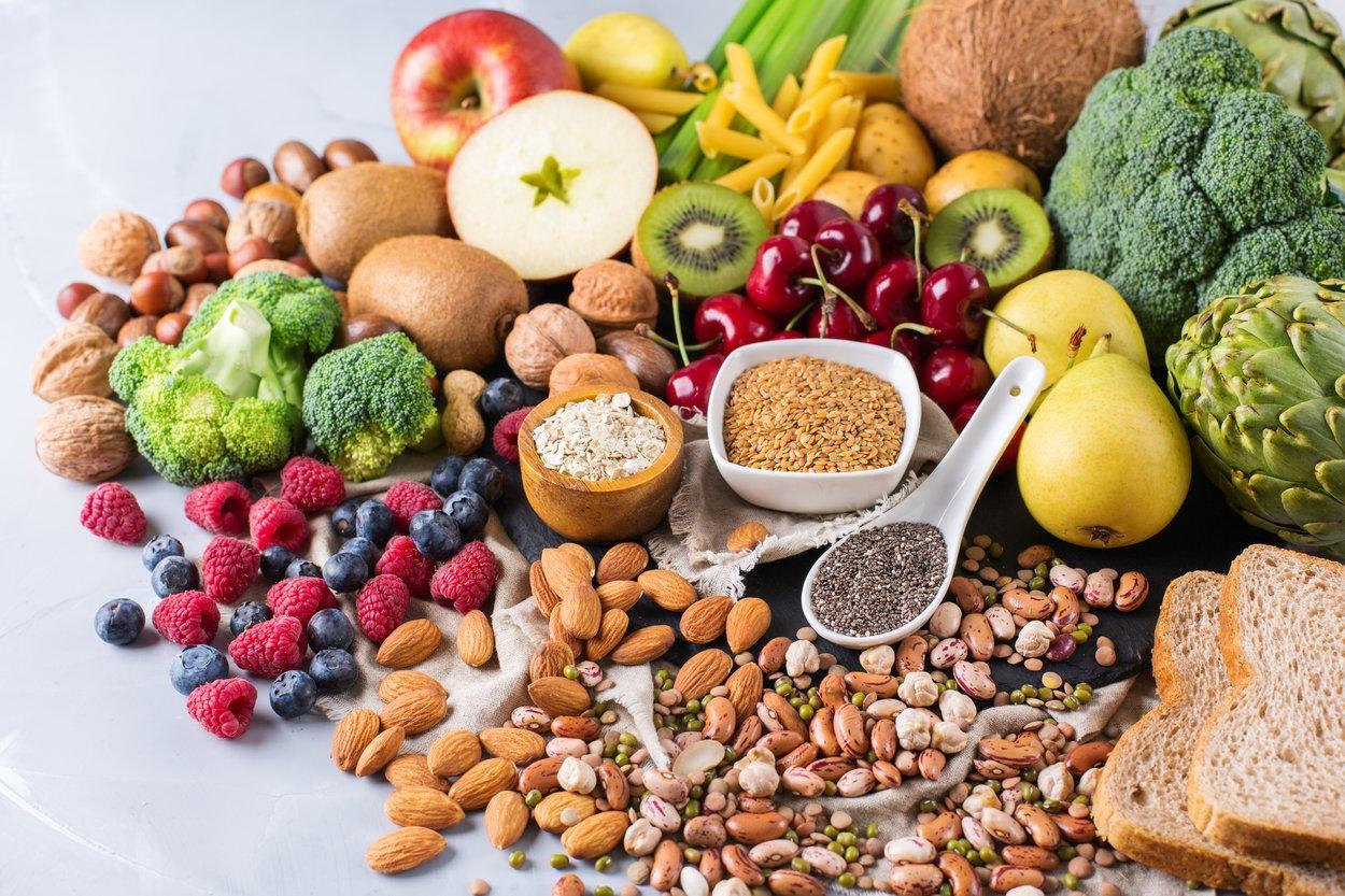 Obst Gemüse Nüsse