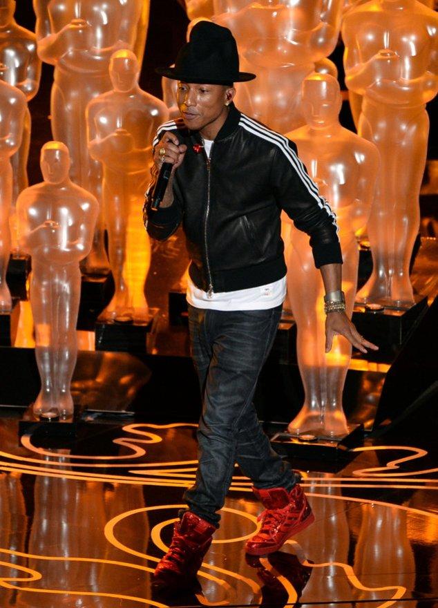 Pharrell Williams auf der Oscar-Bühne