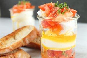 Frühstück im Glas