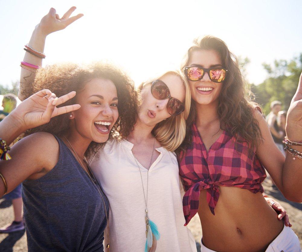 Auch während eines Festivals solltest Du unbedingt auf die richtige Beauty-Pflege achten.