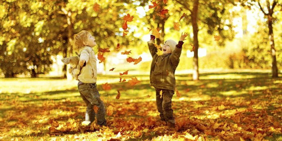 Herbstlieder im Kindergarten
