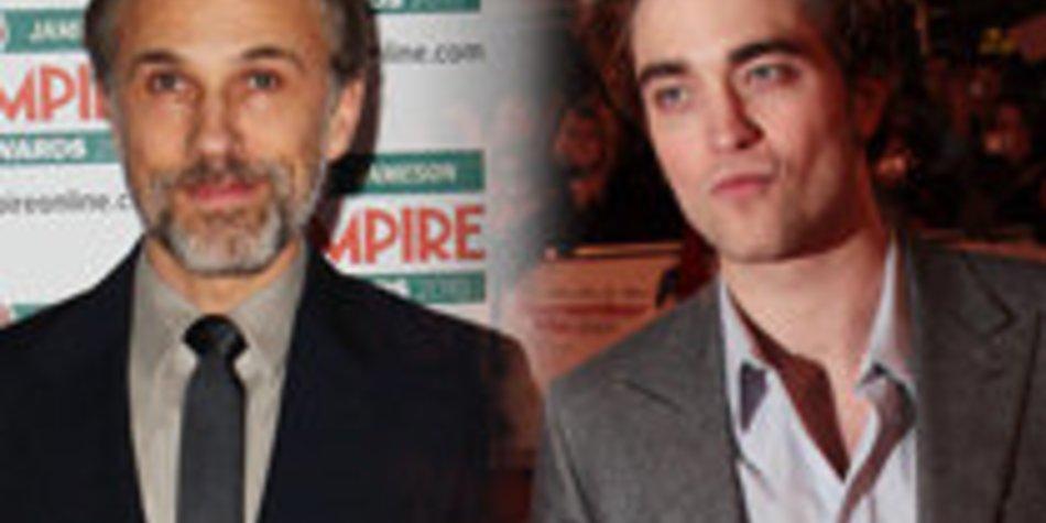Robert Pattinson: Begeistert von Christoph Waltz