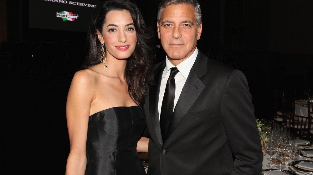 George Clooney und Amal Alamuddin: Steht ihre Ehe vor dem Aus?
