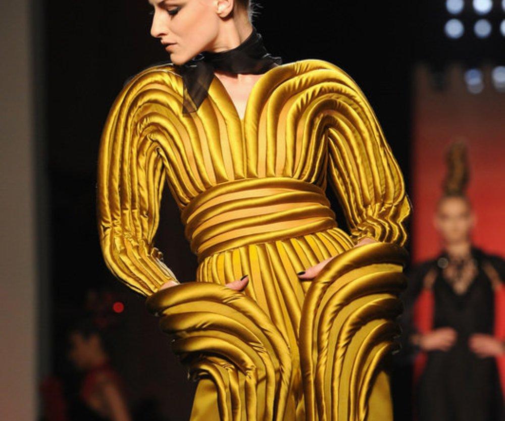 Outfit von Jean Paul Gaultier