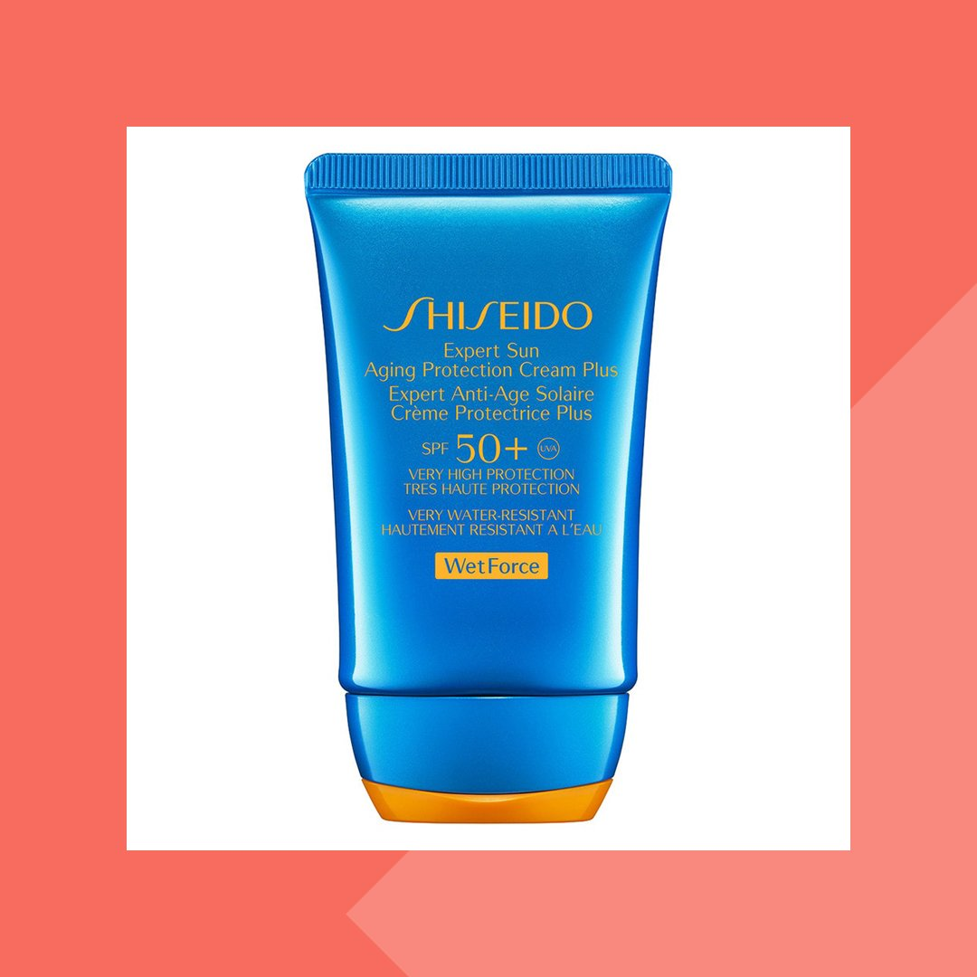 Shiseido Sun Care Expert Sun Aging Protection Cream WetForce
