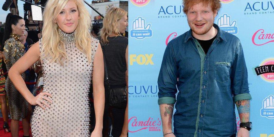 Ellie Goulding und Ed Sheeran: Mehr als nur Freunde!