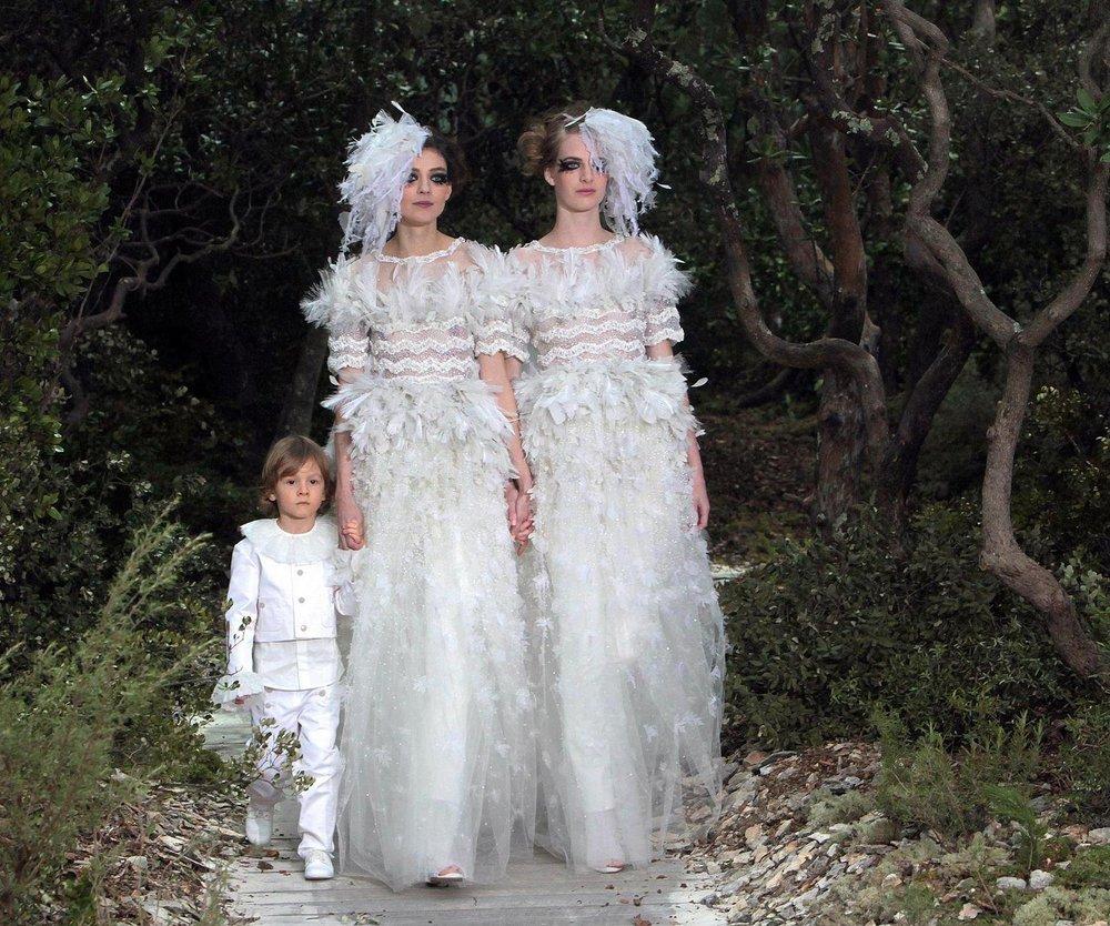 Haute Couture: Chanel, ein Sommernachtstraum