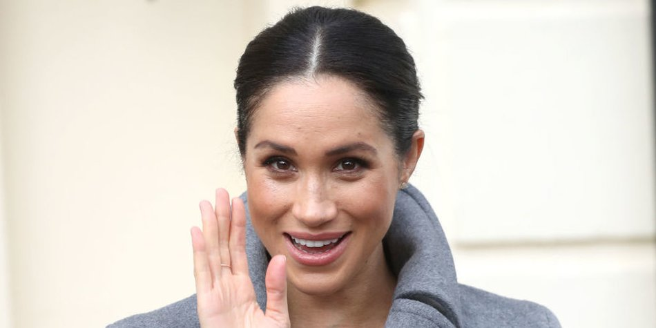 TWICKENHAM, ENGLAND - DECEMBER 18: Meghan, Duchess of Sussex visits the Royal Variety Charity's at Brinsworth House on December 18, 2018 in Twickenham, England. The visit follows The Duchess's attendance at the Royal Variety Performance in November, and will allow Her Royal Highness to see first-hand how the charity cares for those who have spent their lives working in the entertainment industry. (Photo by Chris Jackson/Getty Images)