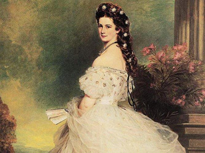 Kaiserin Sissi von Österreich in ihren schönsten Jahren