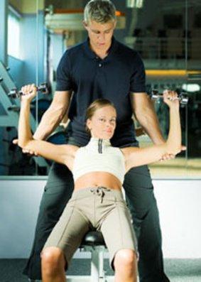Inidivuelles Training mit dem Personal Trainer.