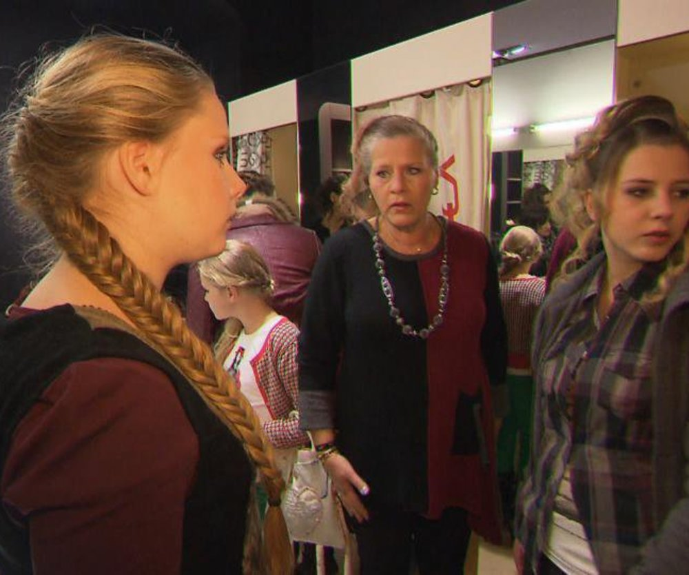 Die Wollnys: Mama Silvia auf der Fashion Week