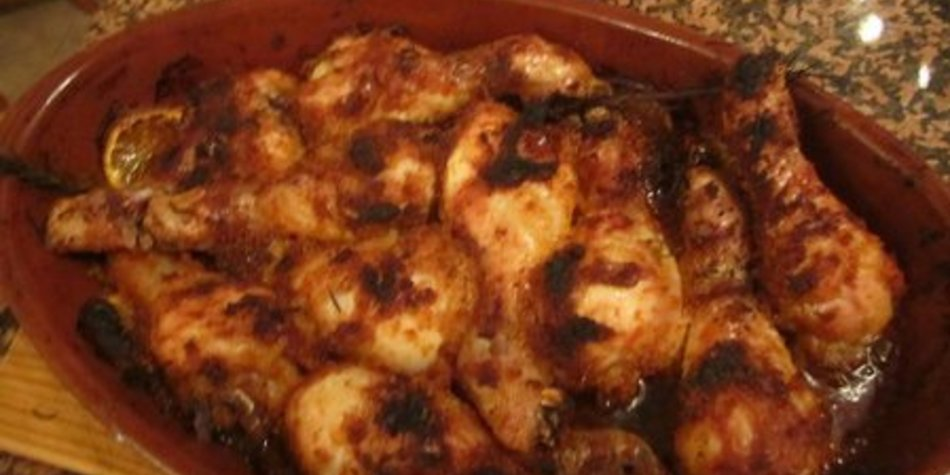 Hähnchen im Ofen
