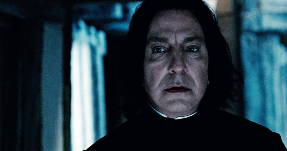 Snape ist traurig