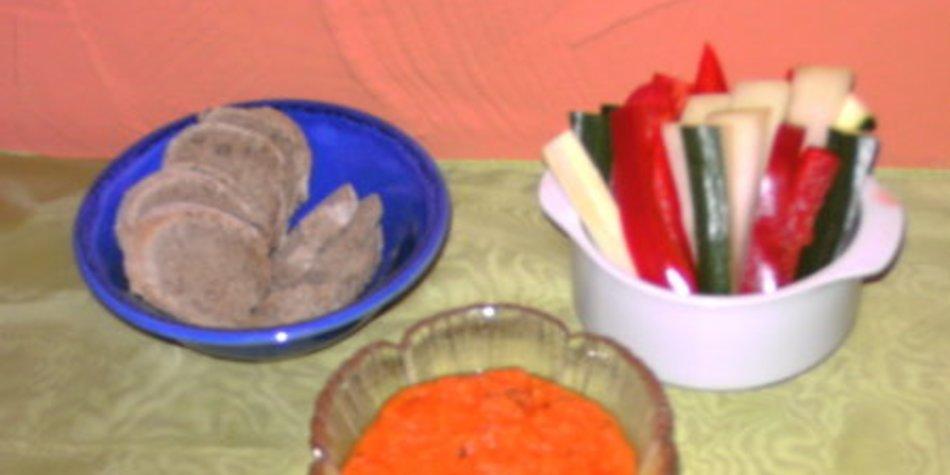 Karottendip mit Kreuzkümmel