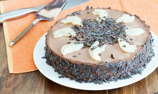 Zum immer-wieder-Nachbacken: Birnen-Schokomousse-Torte-4