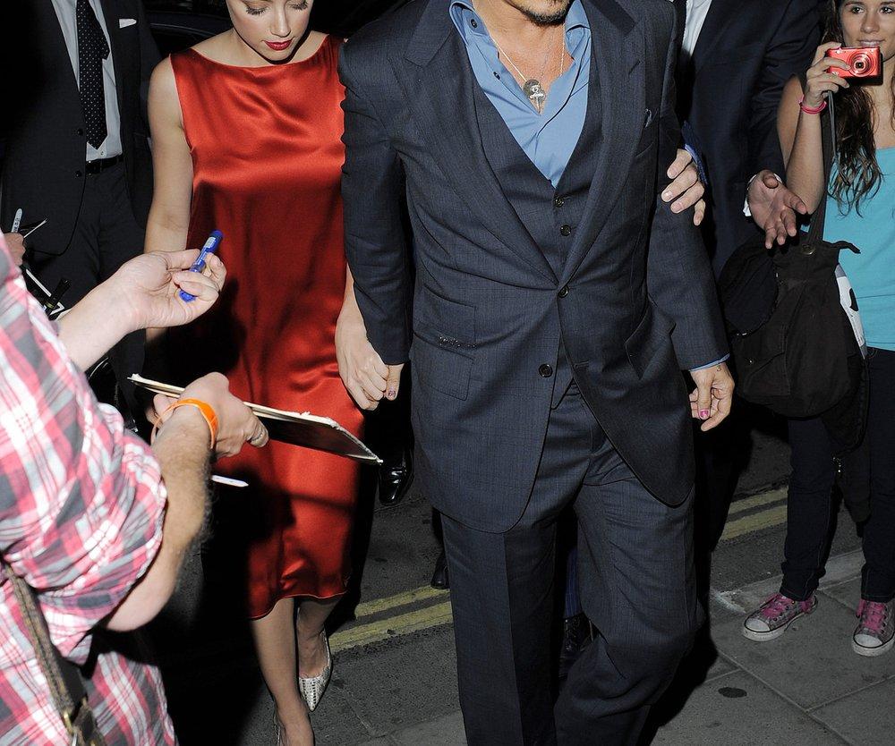 Johnny Depp und Amber Heard: Verliebt in Berlin