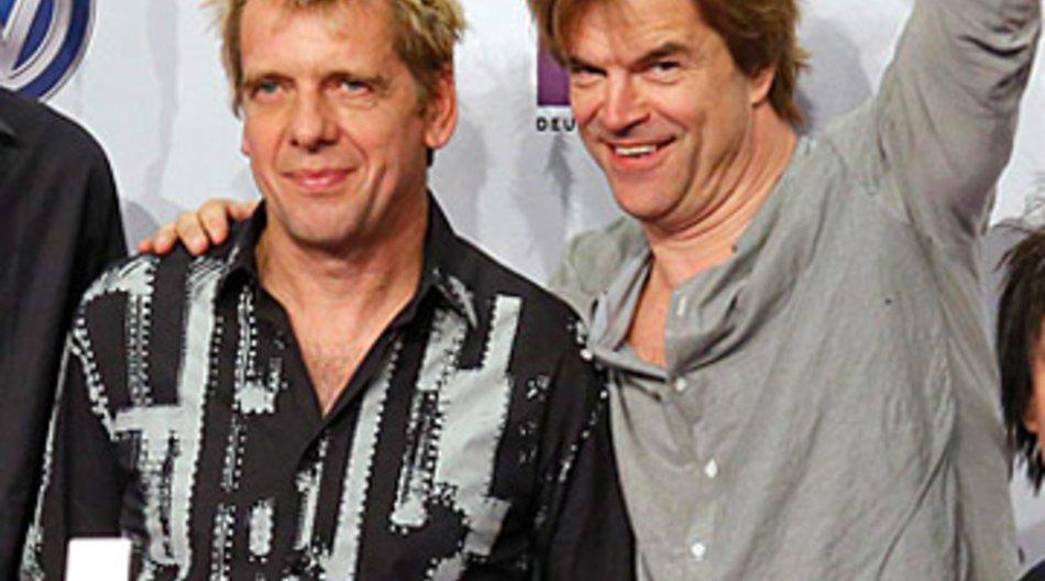 Die Toten Hosen waren die großen Abräumer bei der Echo-Verleihung 2013.