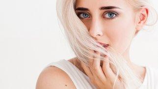 Augenbrauen heller färben
