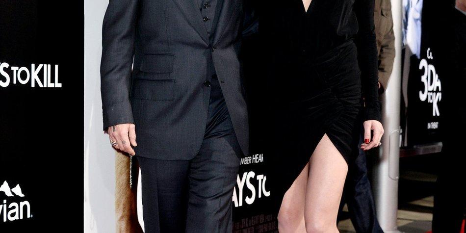 Johnny Depp und Amber Heard feiern riesige Verlobungsfeier