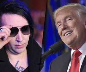 Marilyn Manson köpft Donald Trump