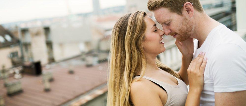Sex auf dem Balkon