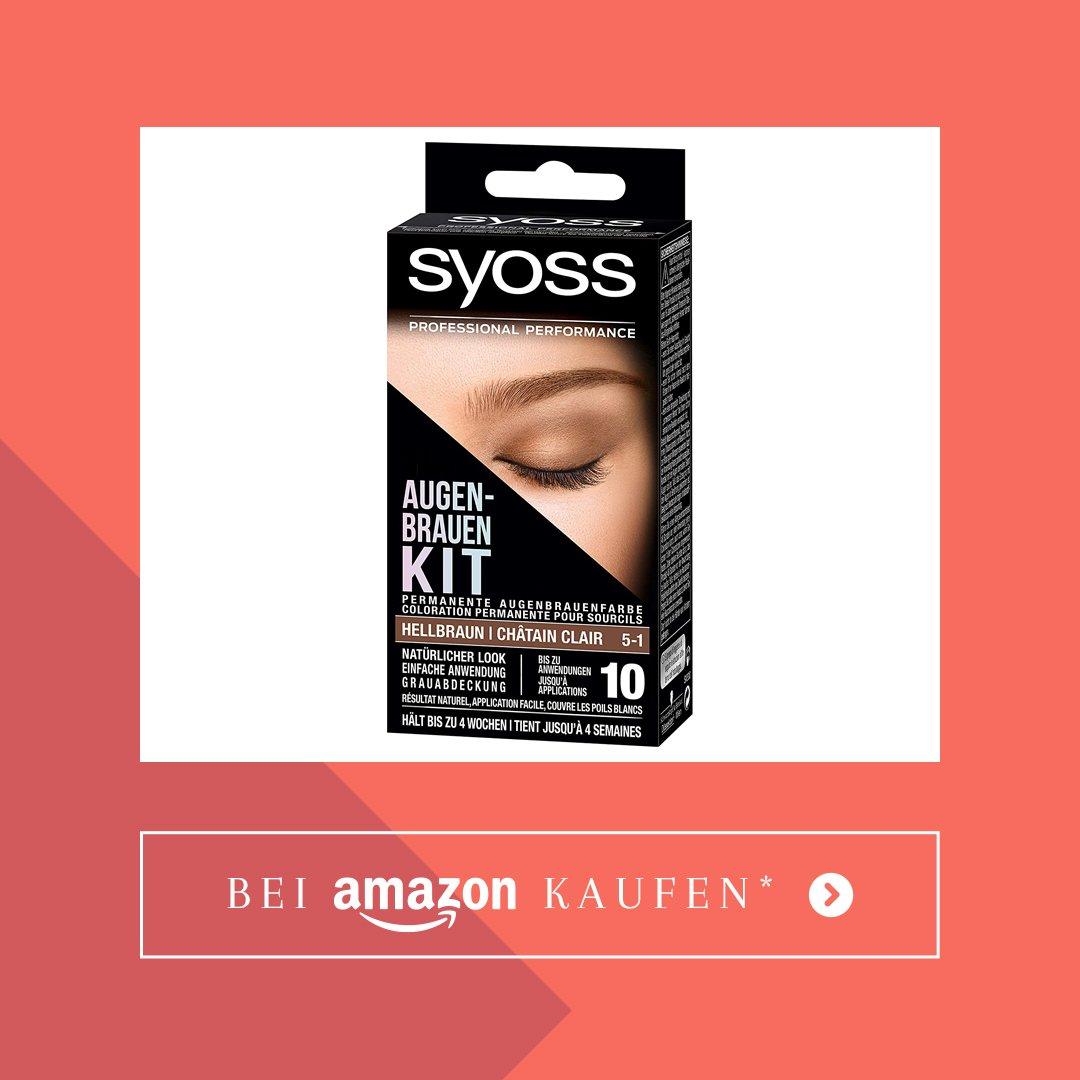 Augenbrauen selber färben Augenbrauenfarbe Set