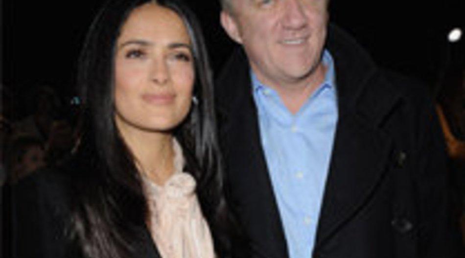 Zweite Hochzeit für Salma Hayek?