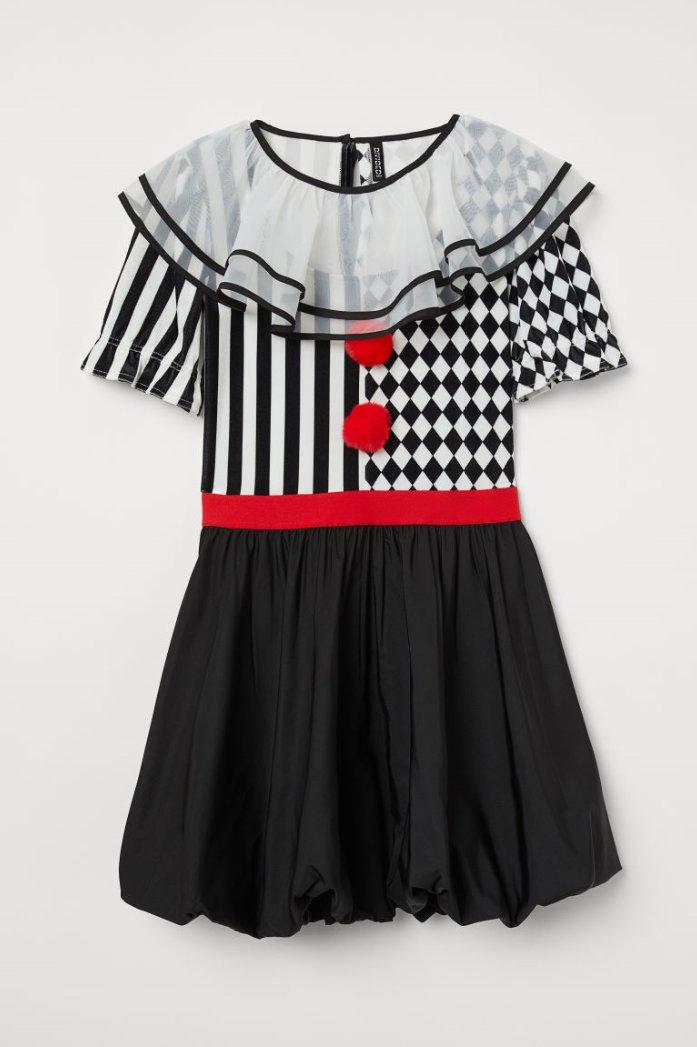 H&M karneval Kostüme für dich und deine Kinde - Harlekin
