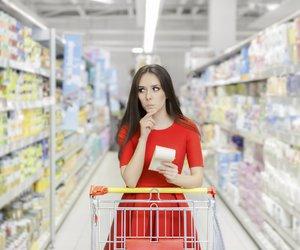 Eine Kalorientabelle hiltft Dir beim Supermarktbesuch