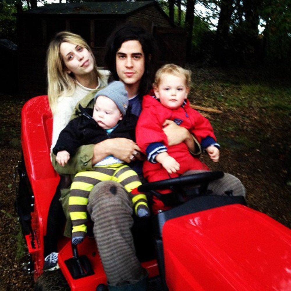 Peaches Geldof genießt das Familienleben