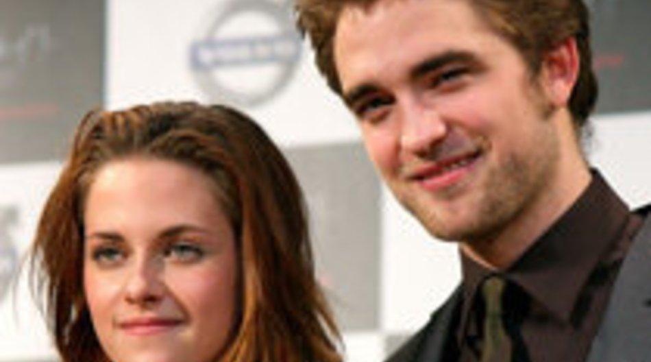"""Robert Pattinson und Kristen Stewart für """"Breaking Dawn"""" in Brasilien"""