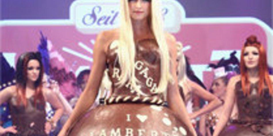 Germanys next Topmodel: Sara Nuru und Lena Gercke in Schokolade!