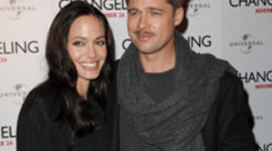 Hollywood Traumpaar Brangelina zu Gast in Berlin