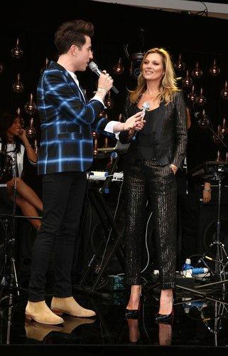 Kate Moss designte für Topshop