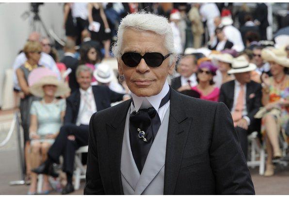 Designer Karl Lagerfeld