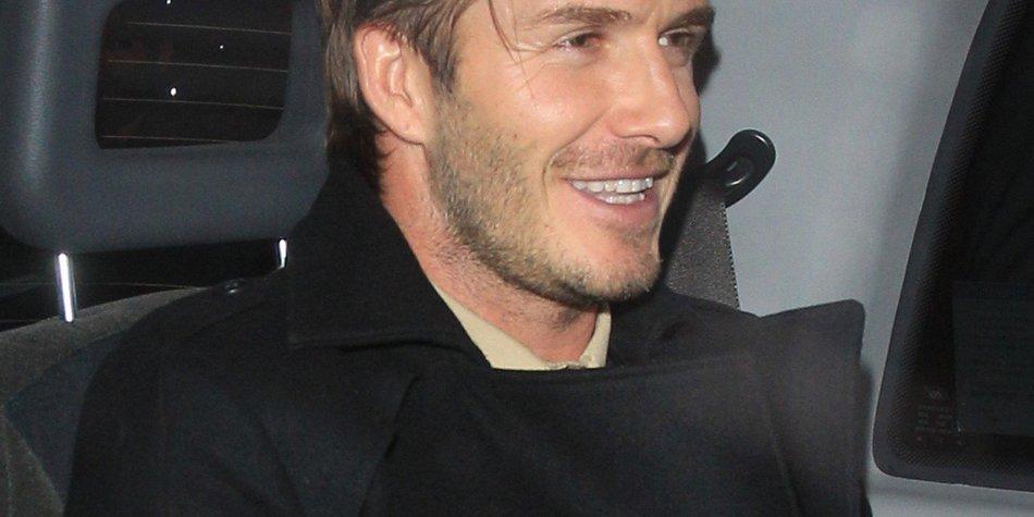 David Beckham feiert mit Prinz Harry