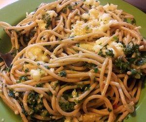 Spaghettisalat mit Feta