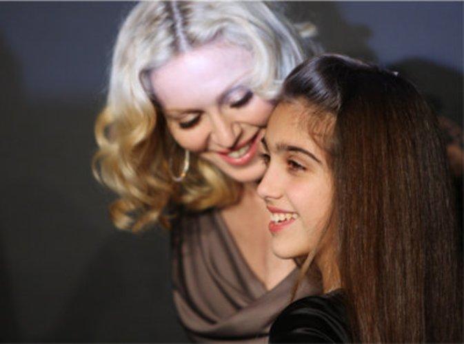 Mit Tochter Lourdes.