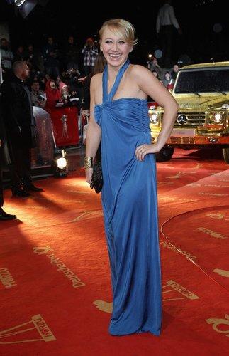 Anna Maria Mühe auf dem Red Carpet.