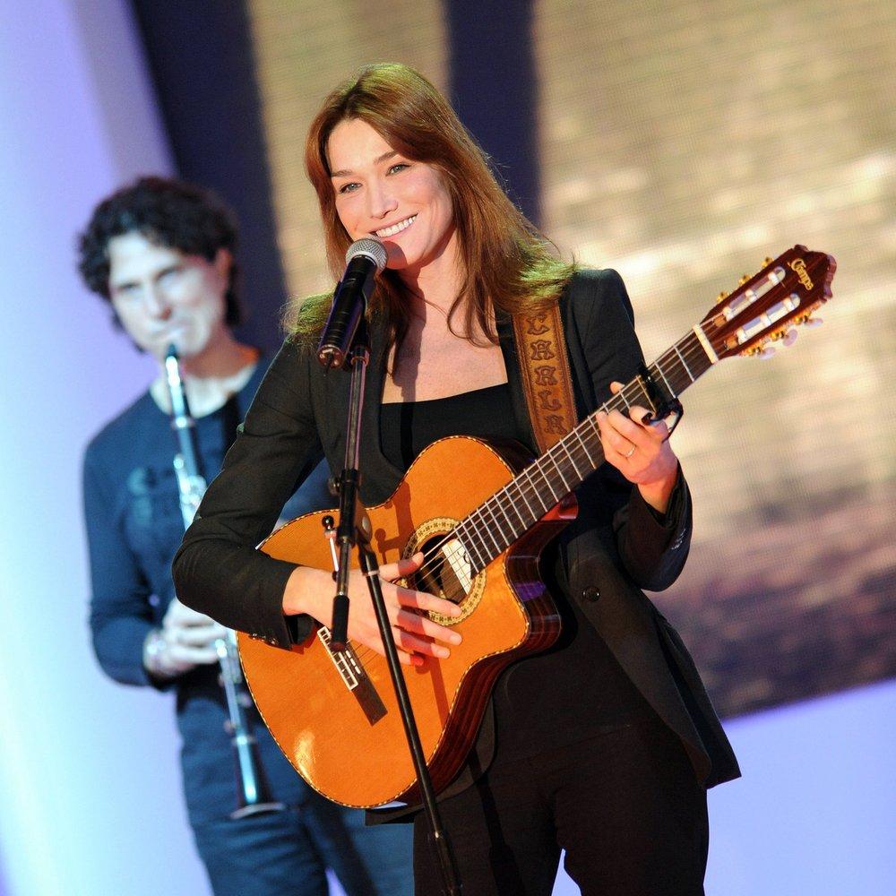 Carla Bruni ist zurück auf der Showbühne