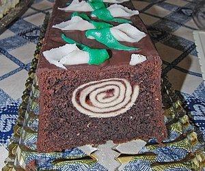 Außergewöhnlicher Schoko-Nuss-Kuchen
