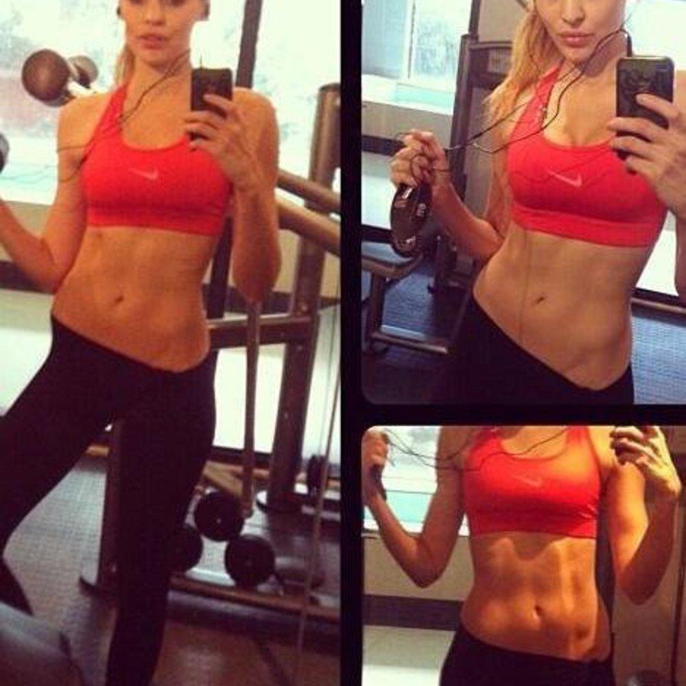 Hana Nitsche ist in Form