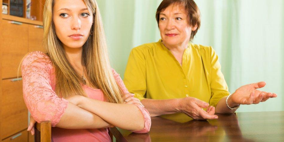 Druck von der Familie