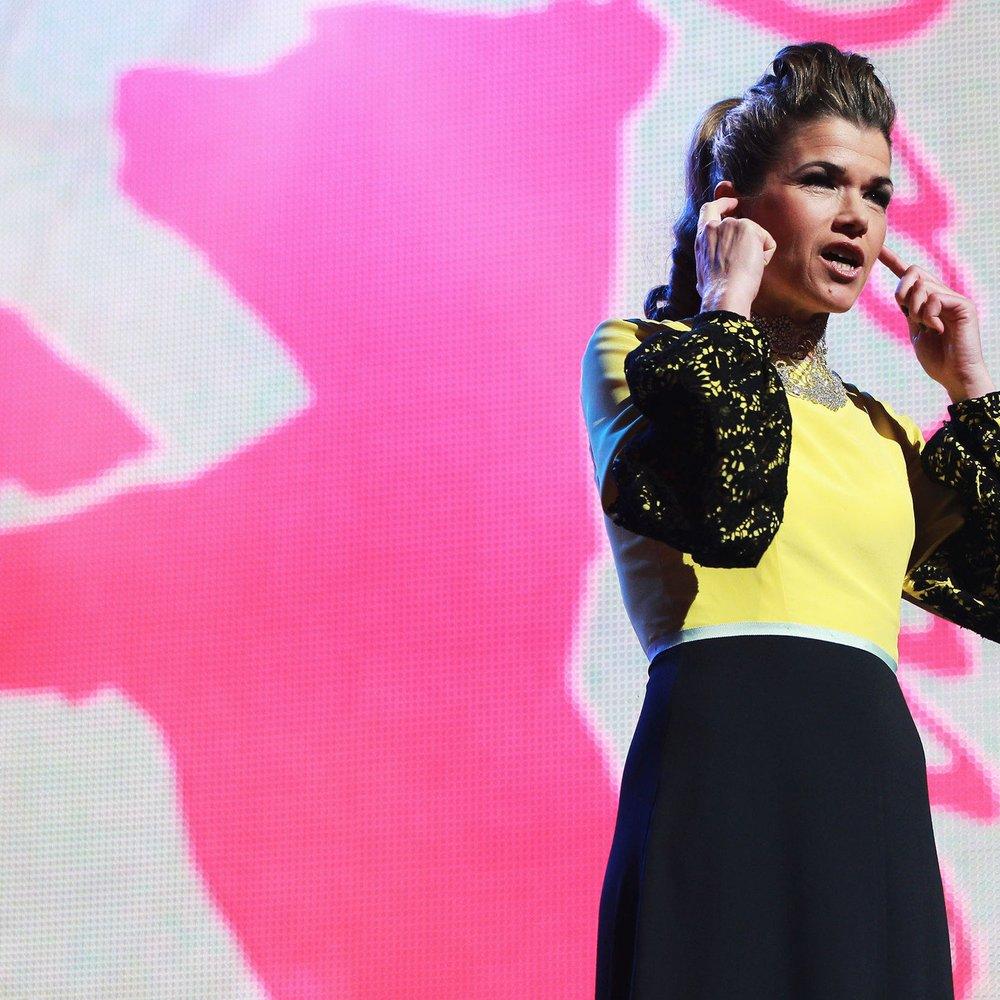 Anke Engelke interessiert sich kaum für Fashion!