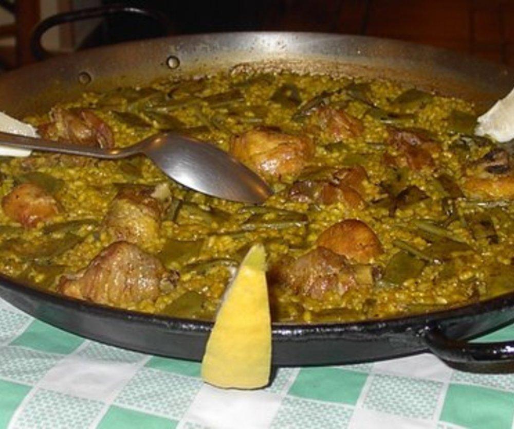 Paella solo Pollo (Huhn)