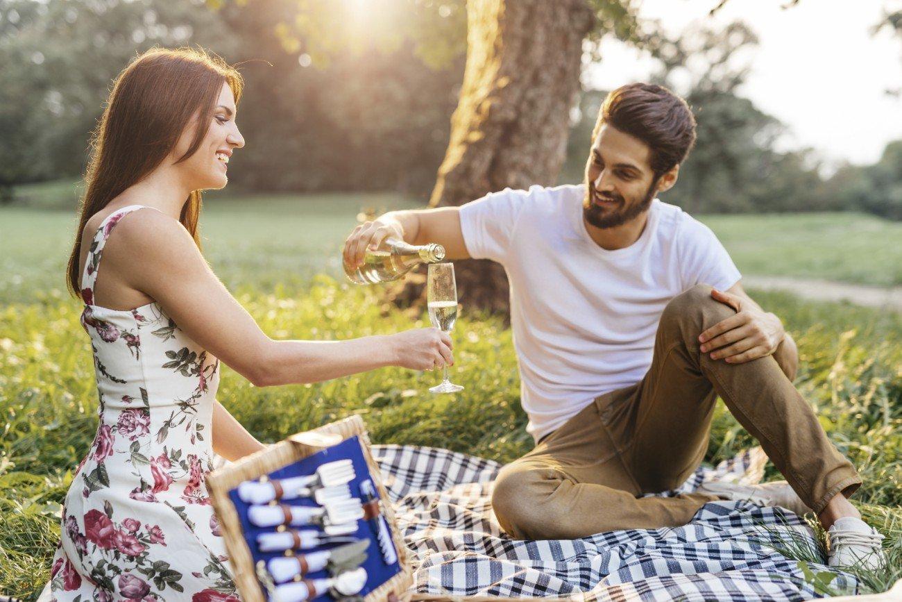 romantisches erstes date