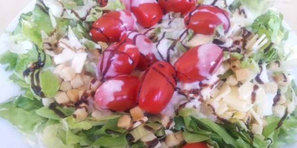 Grüner Salat Dressing