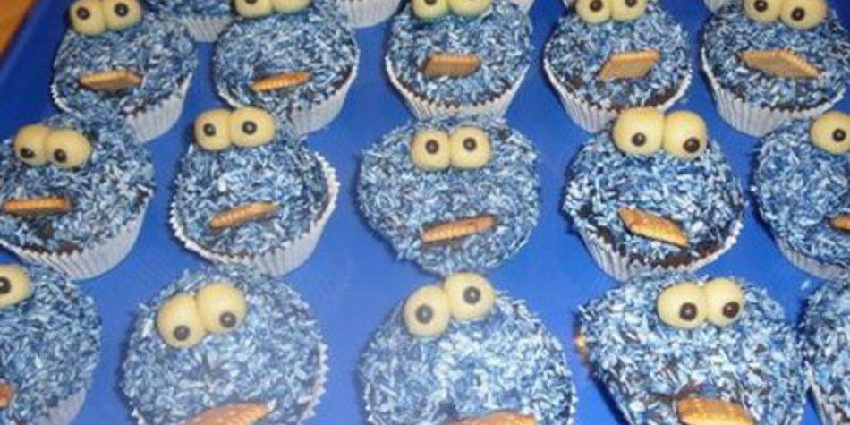 Krümmelmonster Muffins