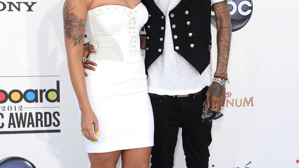 Amber Rose und Wiz Khalifa heiraten in wenigen Wochen